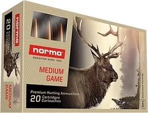 Norma 6,5x55 Nosler Partition 9,1g
